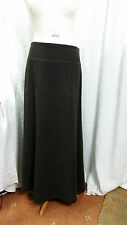 New Atmosphere Women's Brown Suede Look Lined Skirt Size 14
