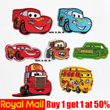 Disney Cars Movie Race Car Iron Sew On Embroidered Cartoon Patch Badge