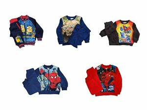 Boys Character Tracksuit | Minion Transformer | 3-12 Years