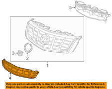 Cadillac GM OEM 16-17 XTS Front Bumper-Lower Bottom Grille Grill 22788112