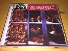 SMOKEY ROBINSON & MIRACLES cd CHRISTMAS x-mas hits jingle bells noel let it snow