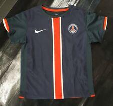 Maillot jersey maglia camiseta shirt PSG neymar mbappe pauleta vintage 4 5 y