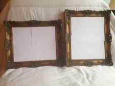 """Grandi dorati effetto barocca in legno Cornice 19 """"x 16,5"""". FOTO Size14.5 """"X 12"""""""