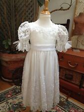 Storybook Heirlooms FLOWER GIRL DRESS Formal Gown SPECIAL Wedding SEQUINS Bead 4