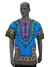 454107a75a8 DASHIKI-SHIRT-AFRICAN-TRIBAL-PONCHO-MEXICAN-HIPPIE Black Panther Unisex