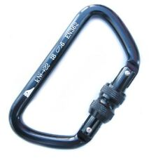 Amp Tazo Screw-Lock Aluminum Carabiner 22kN