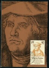 Allemagne - Carte Maximum 1982 - Martin Luther