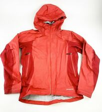 Patagonia Rain Jacket Women's Small Wind Breaker Burgundy