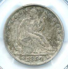 1854 Arrows, Liberty Seated Half Dollar, PCGS XF40