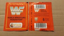 WWF, 1992, Merlin, Two Unopened Packs With Stickers