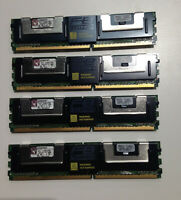 RAM  MEMORY Kingston 32GB = 4x8GB PC2- 5300F - TESTED