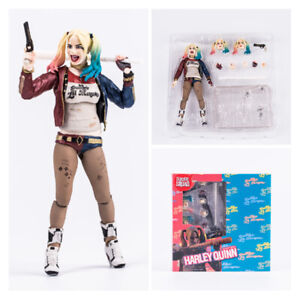 """6"""" Harley Quinn Action Figure Toy DC Suicide Squad Collectible Toy New In Box"""