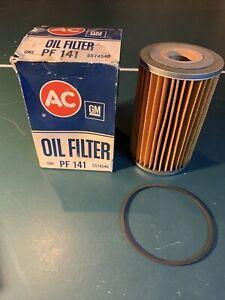 AC GM PF 141 Oil Filter Vintage NOS 1958-1967 Chevrolet V-8 & 65-66 Studebaker