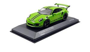 Minichamps 2014 PORSCHE 911 991 GT3 RS COUPE GREEN 1:43 New!*RARE!!