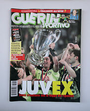 GUERIN SPORTIVO 1997- n. 22 - JUVEX + POSTER STORY JUVE 24 SCUDETTI