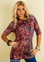 Blusa Donna Camicia GETZ C022 Maniche Corte Multicolore Tg  L