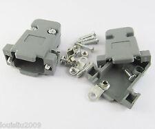 6pcs Plastic Hood Cover for 9 Pin or 15Pin D-Sub DB9 DB15 VGA connectors