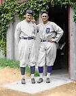 Ty Cobb & Walter Johnson #1 Photo 8X10 -1925  COLORIZED