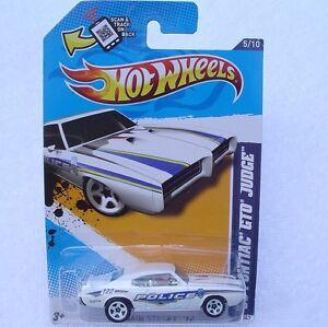 '69 GTO JUDGE Pontiac BIRMINGHAM POLICE Hot Wheels 2012 Main Street New SEALED!