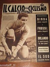 IL CALCIO E CICLISMO ILLUSTRATO 1959/25=LOJACONO=BENEDETTI GIRO TOSCANA=