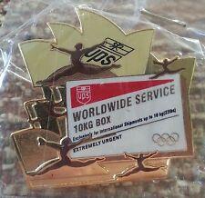 UPS United Parcel Service 10KG SHIPPING BOX 2000 Australia Sydney Olympic Pin