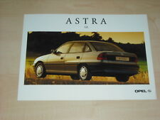 36314) Opel Astra GL Polen Prospekt 199?