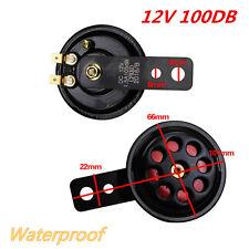 12V Metal Motorcycle Car Truck Electric Horn 100DB Loud Sound Speaker Waterproof