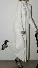 NWT ZARA FW20 White Sequinned Knit Dress 9325/100 Size S,M