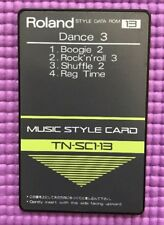 Roland Music Style Card Dance 3 TN-SC1-13