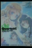 JAPAN Ashito Oyari: Quartett! Visual Fan Book