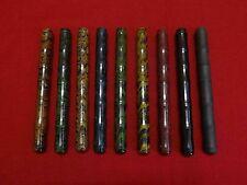RANGA JAPAN STYLE EBONITE RIPPLE-THIN BAMBOO FOUNTAIN PEN-MDL4BS-SEVERAL COLOURS