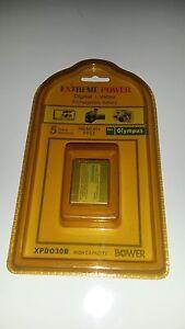Bower Digital Video Camera Battery XPD030B.  Replaces Olympus Li-30B