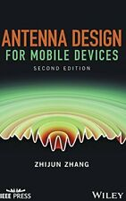 Antenna Design for Mobile Devices (Wiley  IEEE), Zhang 9781119132325 New+=
