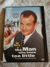 The Man Who Knew Too Little (DVD, 1998) Bill Murray - Peter Gallagher