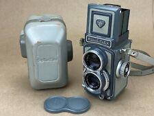 Rolleiflex Baby Grey TLR 4x4 camera, w/ Schneider 60/3.5 Xenar - Just Serviced !