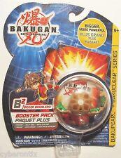 Bakugan WORMQUAKE Brown Subterra Battle Brawlers B2 Booster Pack SEALED MOC 2008