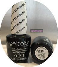 Opi Gel Color Nail Polish ~* Snowflakes in the Air *~ Gelcolor Htf E50 New