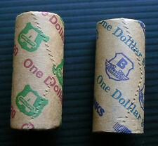 2004 + 2006 $1 Mob of Roos security roll kangaroo Australia unc mint one dollar