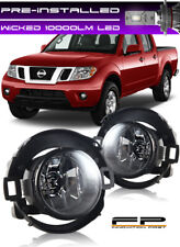 WICKED LED + For 2010-2016 NISSAN FRONTIER Fog Light Driving Lamp Complete Kit