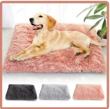 Faux Fur Cushion Dog Bed Support Memory Cover ULTRA SOFT Fleece And Plush
