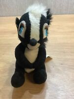 Disney Bambi Plush Flower Soft Toy Skunk Rare Collectable 5 Inch