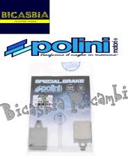 10898 - PASTIGLIE POLINI DISCO FRENO ANTERIORE LML 125 150 200 2T 4T STAR DELUXE