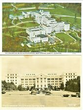 White Sulpher Springs WV The Greenbrier Two Views RPPC