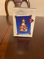 NIB Hallmark Keepsake Lighthouse Greetings Ornament Collector's Series #6 2002