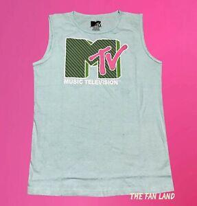 New MTV Spring Break Mens Vintage Tank Top T-Shirt
