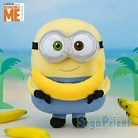 Minion mega jumbo banana love! Bob Plush Stuffed toy Doll SEGA 2018 from JAPAN