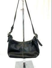 COACH Legacy Black Leather Hobo Satchel Handbag Purse F053-9564