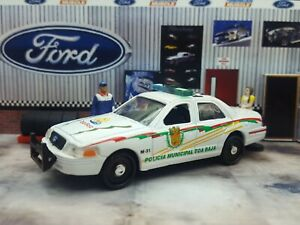 2002 FORD CROWN VICTORIA TOA BAJA MUNICIPAL POLICE LOOSE 1:64 SCALE TIGER WHEELS