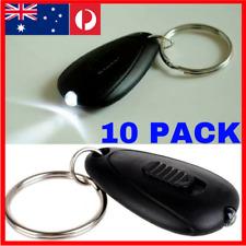 10 PACK Small LED Flashlight Keyring Key Chain Torch Light Lamp KEYS keychain