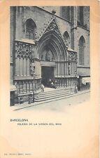 B93399  barcelona iglesia de la virgen del mar   spain